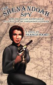Book Cover for THE SHENANDOAH SPY