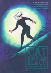Book Cover for CAT BURGLAR BLACK