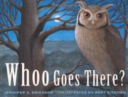 Book Cover for WHOO GOES THERE?