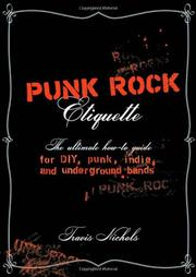 Book Cover for PUNK ROCK ETIQUETTE