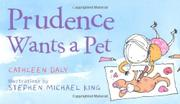 Book Cover for PRUDENCE WANTS A PET
