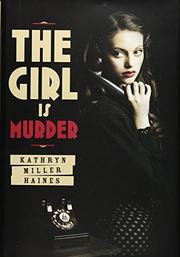 Cover art for THE GIRL IS MURDER