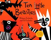 Cover art for TEN LITTLE BEASTIES