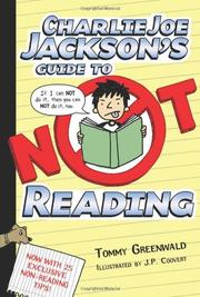 Cover art for CHARLIE JOE JACKSON'S GUIDE TO NOT READING