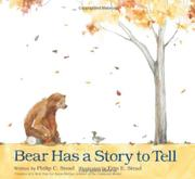 Cover art for BEAR HAS A STORY TO TELL