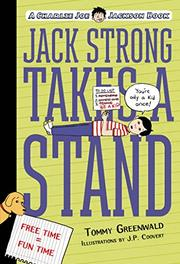 JACK STRONG TAKES A STAND by Tommy Greenwald