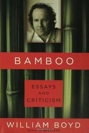 BAMBOO by William Boyd