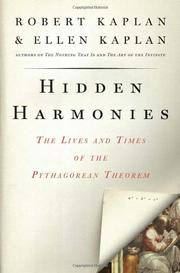 HIDDEN HARMONIES by Robert Kaplan