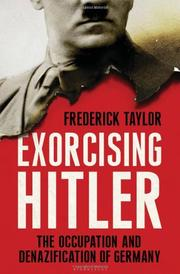 Cover art for EXORCISING HITLER