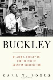 BUCKLEY by Carl T. Bogus