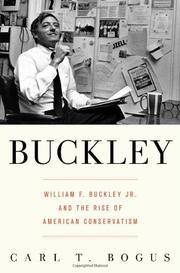 BUCKLEY by Carl T. Bogus