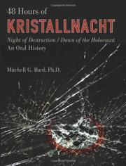 48 HOURS OF KRISTALLNACHT by Mitchell Bard
