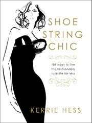 Book Cover for SHOESTRING CHIC