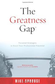Book Cover for THE GREATNESS GAP