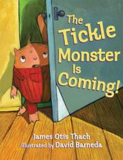 Cover art for THE TICKLE MONSTER IS COMING!