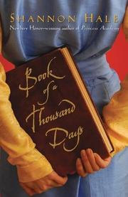 Cover art for BOOK OF A THOUSAND DAYS