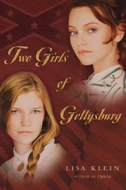 Cover art for TWO GIRLS OF GETTYSBURG