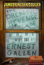 Cover art for THE DREADFUL REVENGE OF ERNEST GALLEN