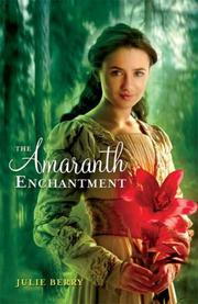 Cover art for THE AMARANTH ENCHANTMENT
