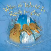 Book Cover for WHEN THE WORLD IS READY FOR BED