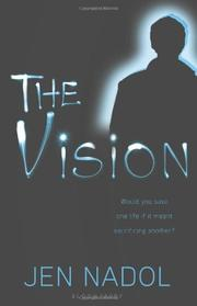 Cover art for THE VISION