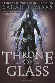 Cover art for THRONE OF GLASS