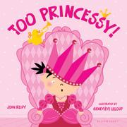 Cover art for TOO PRINCESSY!