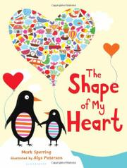 Book Cover for THE SHAPE OF MY HEART