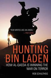 Book Cover for HUNTING BIN LADEN
