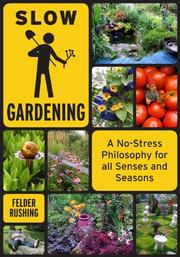 Book Cover for SLOW GARDENING