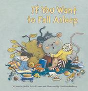 IF YOU WANT TO FALL ASLEEP by Jackie Azúa Kramer