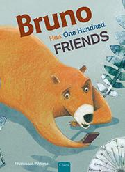 BRUNO HAS ONE HUNDRED FRIENDS by Francesca Pirrone