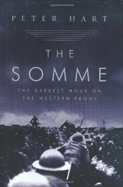 Cover art for THE SOMME