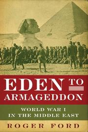 EDEN TO ARMAGEDDON by Roger Ford
