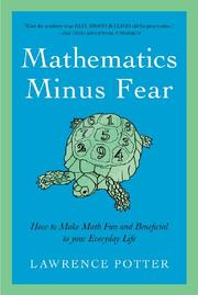 Book Cover for MATHEMATICS MINUS FEAR