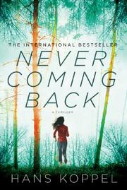Cover art for NEVER COMING BACK