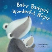 Cover art for BABY BADGER'S WONDERFUL NIGHT