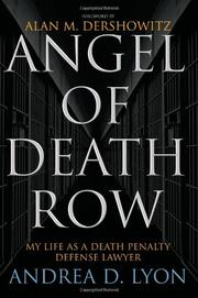 Book Cover for ANGEL OF DEATH ROW