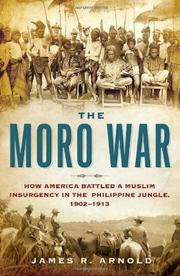 Cover art for THE MORO WAR