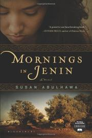 MORNINGS IN JENIN by Susan Abulhawa