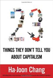 Cover art for 23 THINGS THEY DON'T TELL YOU ABOUT CAPITALISM