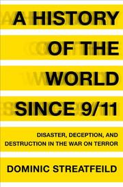 Cover art for A HISTORY OF THE WORLD SINCE 9/11
