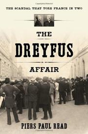 Cover art for THE DREYFUS AFFAIR