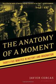 Book Cover for THE ANATOMY OF A MOMENT