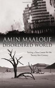 DISORDERED WORLD by Amin Maalouf