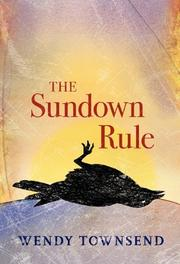 Cover art for THE SUNDOWN RULE