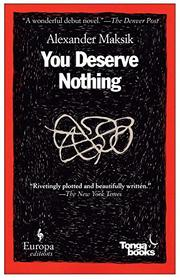 Book Cover for YOU DESERVE NOTHING