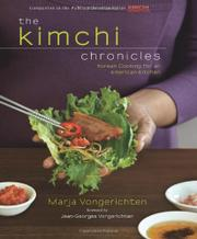 THE KIMCHI CHRONICLES by Marja Vongerichten