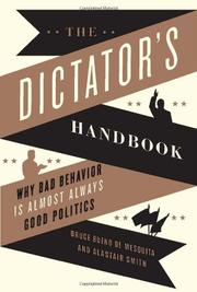 Cover art for THE DICTATOR'S HANDBOOK