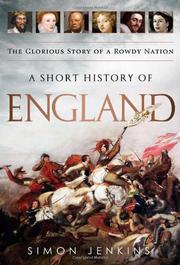 Book Cover for A SHORT HISTORY OF ENGLAND